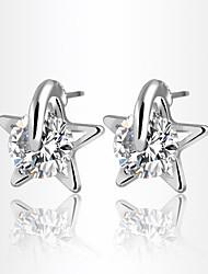 Boucles d'oreille goujon ( Alliage / Zircon ) Mariage / Soirée / Quotidien / Casual / Sports