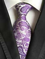 Cravate (Violet , Polyester) Motif