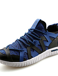 Turnschuhe Herren Schuhe Tüll Schwarz / Blau / Grün