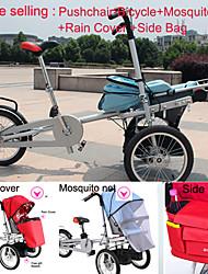 """intero set 16 """"passeggino passeggino +1 Mosquite bag copertura netta + 1 + 1 faccia pioggia ruituo ™ 3 ruote di biciclette pieghevoli"""