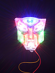 12V Motorcycle LED Colored Light Transformers Stoplight Flashing Light
