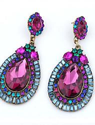 Cute / Casual Alloy / Rhinestone / Imitation Pearl Drop Earrings
