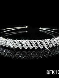 Full Crystal Rhinestone Headband for Wedding Party Tiaras