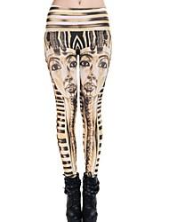 Pantaloni Da donna Skinny Da ufficio / Casual Poliestere Elasticizzato