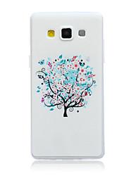 деревья картины TPU материал телефон случае для галактики Самсунга a3 / a5