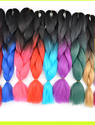 Ms African Chemical Fiber Color Big Child Jumbo Braid Hair High Temperature Wire 1PCS