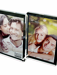 "4 "" x 6 "" Creative Acrylic Double-faced Table Picture Frame Composition,Set of 4"