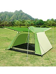SHAMOCAMEL Waterproof / Breathability Polyester One Room Tent Green