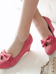 Women's Shoes   Heel Wedges Heels Outdoor / Office & Career / Casual Black / Yellow / Pink / Beige/K161