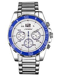 Men's Watch Luxury Brand Full Steel Watch Business Quartz Wristwatch Male Waterproof fashion Watches Relojes Wrist Watch Cool Watch Unique Watch