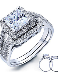 925 Sterling Silver Women New Korean Jewelry Zircon Women Rings High-end Diamond Engagement Ring