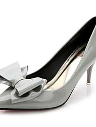 Women's Heels Spring / Summer / Fall Heels / Pointed Toe / Closed Toe  Casual Stiletto Heel Bowknot Walking