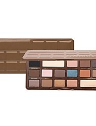 To Faced Semi Sweet Chocolate / 16-Color Smoked Eye Shadow Palette with Mirror