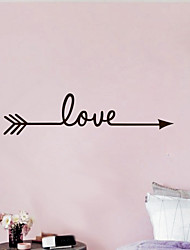 The Love-shaft Wallpaper Fashion Vinyl Family Wall Decorative diy Mural Wallpaper Vinyl Wall Applique