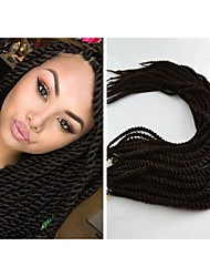1Pcs Crochet Senegalese Twist Braid Kanekalon Fiber for Black Girls
