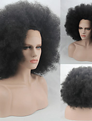 Fashion Synthetic Wigs Lace Front Wigs Afro Curly Black Heat Resistant Hair Wigs Women