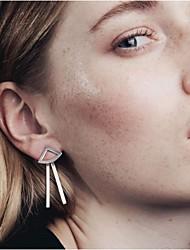 Earring Drop Earrings Jewelry Women Party / Daily / Casual Alloy 2pcs Gold / Silver