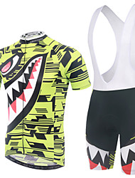 XINTOWN SportWear Cycling Bike Bib Short Sleeve Clothing Bicycle Jersey Shorts Suit