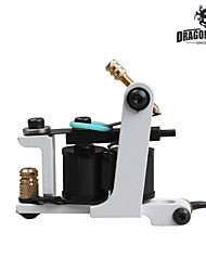 White Color New Arrival Handmade Tattoo Machines 10 Wrap Coils For Liner Shader Professionals Tattoo Supply