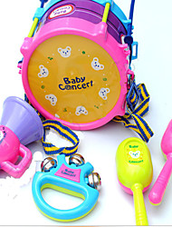 FIve Pcs Drums Set Musical Instruments Music Toys