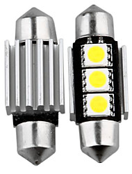 10 canbus kein Fehler 3 SMD LED Innen Lampe Licht 36mm