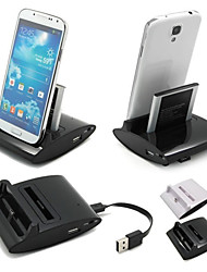 cwxuan® 3 in 1 desktop data sync lading otg station usb lader voor Samsung Galaxy S3 i9300