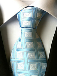 Cravatta - A rete DI Poliestere - Blu