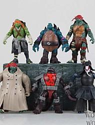 tortugas Ninja Leo PVC Las figuras de acción del anime Juegos de construcción muñeca de juguete