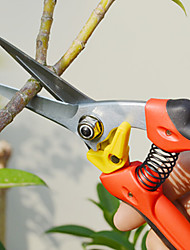 SELLERY Pruner Garden Scissor with Red Handle Stick Fruit Cutting Tool