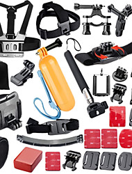 Accessories For GoPro,Front Mounting Monopod Buoy Adhesive Mounts Straps Hand Grips/Finger Grooves Clip Mount/Holder BalaclavasWaterproof