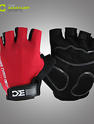 Basecamp Shipping Sports Antislip Cycling Glove Bike Bicycle Sports Half Finger Glove Red BC-204