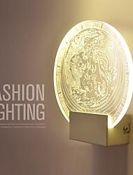 Chandeliers muraux / Eclairage de Salle de bains / Eclairages extérieurs muraux / Lampe de lecture murales Cristal / LED / Ampoule incluse