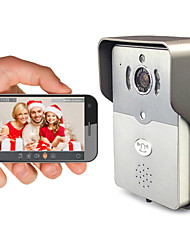 besteye® dbv01p telecamera wireless campanello hd720p ir notte video audio wifi intelligente per il rilievo smart phone