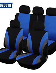 autoyouth классика автомобиль чехол для сиденья универсальный подходит для большинства автомобилей марки охватывает 3 цвета крышки