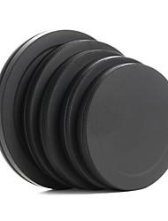 tampa da lente de metal frente filtro traseiro caixa portátil de proteção 52/55/58/62/67 milímetros