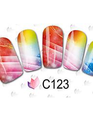-Finger / Zehe-3D Nails Nagelaufkleber-Andere-40PCSStück -15cm x 10cm x 5cm (5.91in x 3.94in x 1.97in)cm