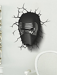 AYA™ DIY Wall Stickers Wall Decals,3D Star Wars PVC Wall Stickers