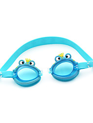 Swimming Goggles Kid's Anti-Fog Silica Gel PC Green / Pink / Blue / Dark Blue / Orange Green / Pink / Blue / Dark Blue / Orange