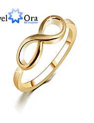 Ring Fashion Party Jewelry Alloy / Gold Plated Women Band Rings 1pc,One Size Gold