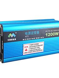 1000w автомобиля солнечный инвертор преобразователь Силовой трансформатор 12v к 220v с вентилятором