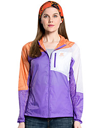 Women Outdoor Sport Windbreaker Waterproof Sun & UV protection Movement Lightweight Quick-dry Hiking  Skin Jacket