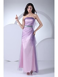 TS Couture® Formal Evening Dress Ball Gown Strapless Floor-length Tulle with Side Draping