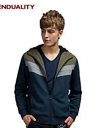 Trenduality® Men's Round Neck Long Sleeve Hoodie & Sweatshirt Navy - 31559
