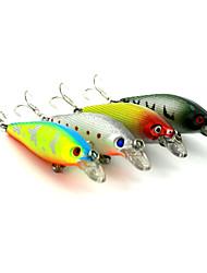 """4pcs pcs kleiner Fisch Zufällige Farben 10.3g g/3/8 Unze,85 mm/3-5/16"""" Zoll,Fester KunststoffSeefischerei / Fischen im Süßwasser /"""
