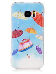 Für Samsung Galaxy Hülle Muster Hülle Rückseitenabdeckung Hülle Zeichentrick TPU SamsungS7 / S6 edge / S6 / S5 Mini / S5 / S4 Mini / S4 /