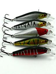 """5pcs pcs kleiner Fisch Zufällige Farben 8.5g g/5/16 Unze,80 mm/3-1/4"""" Zoll,Fester KunststoffSeefischerei / Fischen im Süßwasser /"""