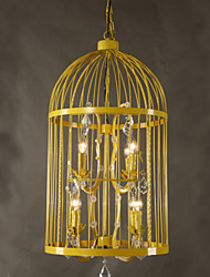 Vintage Clothing Store Iron Cage Staircase Lamp Chandelier Crystal A