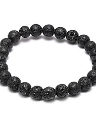 Hot Lava Stone Beads Beaded Bracelets