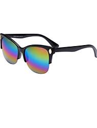 Sunglasses Men / Women / Unisex's Fashion Square Black / White / Red / Wine / Purple / Blue Sunglasses Half-Rim
