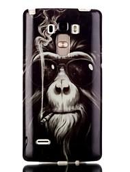 Pour Coque LG Transparente / Motif Coque Coque Arrière Coque Animal Flexible TPU LG